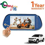 myTVS TRV-67T 7 inches Car Rear View Full HD Touch Parking Screen with Mirror Link-Jeep Compass