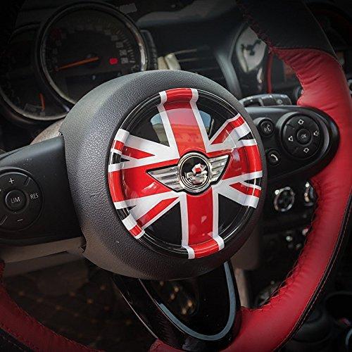 LVBAO 3D coprivolante cruscotto Trim sticker per BMW Mini One Cooper S JCW F Series F54F55F56F57F60Countryman Clubman Union Jack