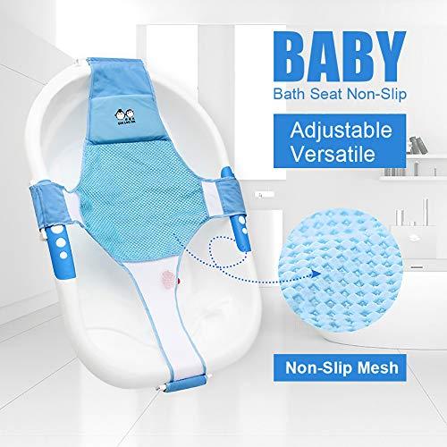 Recién nacido asiento baño del bebé accesorios de baño de soporte del asiento baño de ducha del bebé recién nacido del bebé baño de seguridad