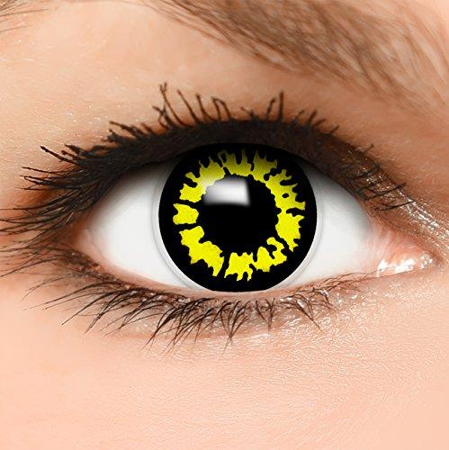 Tutorial Kostüm Wolf (Farbige Kontaktlinsen