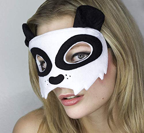 Maske *New Panda Bear* - Maske Panda Bär | Karneval | Fasching | Panda Kostüm | Cosplay | ()