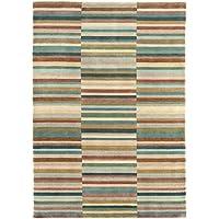 Moderna Designer tappeto JAUDY Stripe Tappeto 200x300cm Verde multi multicolor
