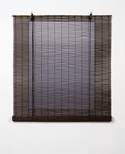 Estores Basic, persianas de bambu, Wengué, 150x170cm, estores para ventana, persianas de bambu.