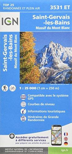 3531ET ST GERVAIS-MASSIF DU MT BLANC par COLLECTIF
