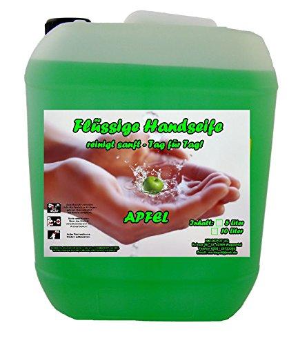 10 L Cremeseife Handseife APFEL Flüssigseife extra mild Seifenspender