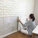 AFUT Ziegel Wand Aufkleber Kunst Porzellanziegel Dekoration Entfernbarkeit(10)
