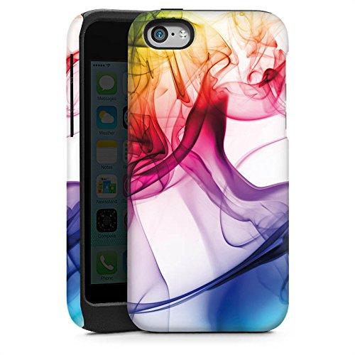 Apple iPhone 5 Housse Outdoor Étui militaire Coque Couleurs couleurs Brouillard Cas Tough brillant