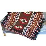 AFAHXX Verdickt Sofa Überwürfe,Tapisserie Sofa Decke verzieren Sofabezug für Sofa-A 160x220cm(63x87inch)