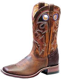 Botas de los EE.UU.-Botas western BO-4755-65-C (pie normal), diseño de mujer, color marrón