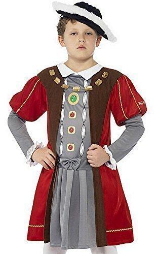 Histories Jungen Kostüm im Tudor-Stil, aus Holz, alle Größen (Henry Viii Kostüm Kind)