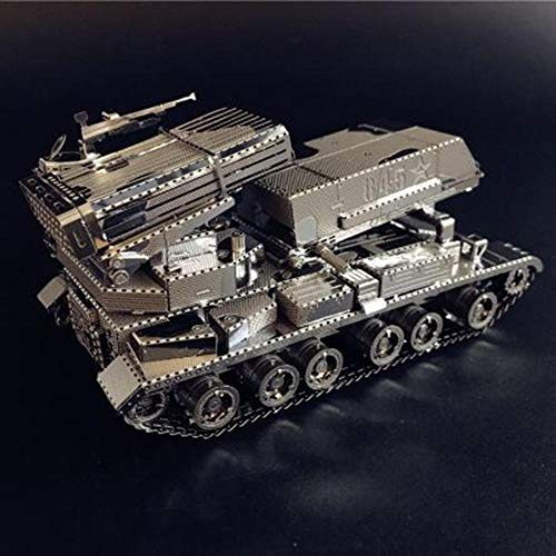 klkll Metall Modell Modell 3D MetallmodellbausatzDIY 3D Laser Cut Modell Puzzle Spielzeug für Erwachsene Metall Dekoration Puzzle Modell
