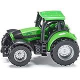 Siku DEUTZ-FAHR Agrotron Preassembled Tractor - modelos de vehículos de tierra (Preassembled, DEUTZ-FAHR Agrotron, Tractor, Principiante, Negro, Verde)