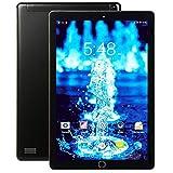Tablette Tactile 10 Pouces Android 7.0 4G LTE Doule SIM / WiFi, Tablettes avec 3Go de RAM + 32Go ROM Quad Core Écran HD Double Caméra Bluetooth, GPS, OTG