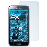 atFolix Displayschutzfolie für Samsung Galaxy S5 Schutzfolie - 3 x FX-Clear kristallklare Folie