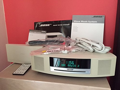 Bose Wave Music System Radio/CD II - Platinum White