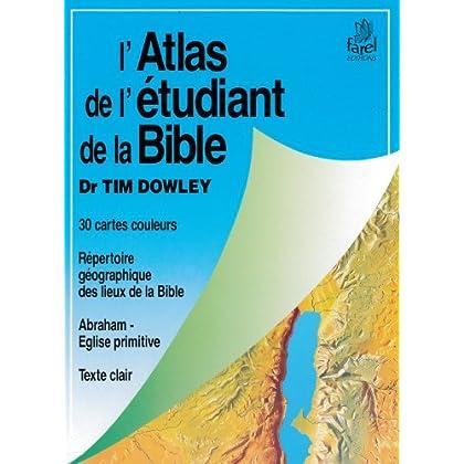 Atlas de l'étudiant de la Bible