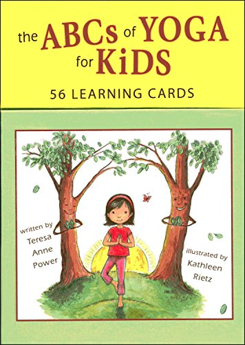 ABCs of Yoga for Kids: 56 Learning Cards por Teresa Anne Power