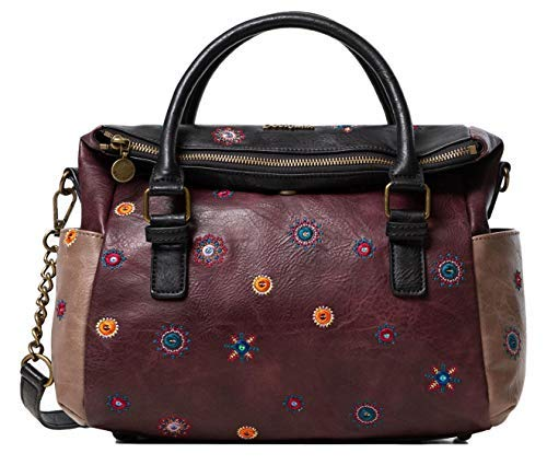 Desigual Tasche JULIETTA LOVERTY 19WAXPX4 Flash Collection, Braun, M