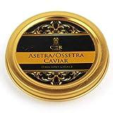 Le Caviar Asetra/d'osciètre 50g (Director's Choice).Livraison gratuite