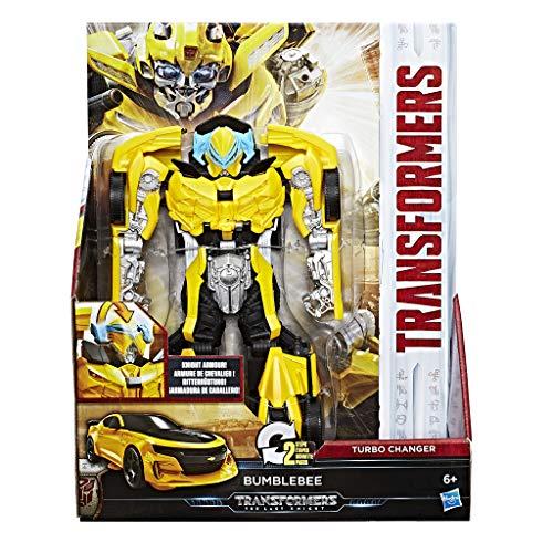 Megatron Kostüm - Hasbro Transformers C1319ES0 - Movie 5 Knight Armor Turbo Changer Bumblebee, Actionfigur