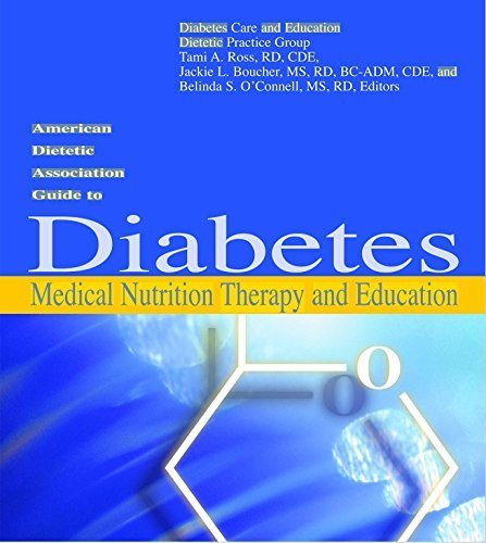American Dietetic Association Guide to Diabetes Medical Nutrition Therapy And Education by Amer Dietetic Assn (2005-06-01)