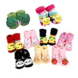 #4: SioTM New Born Baby Socks cum shoes - 2 Pair set