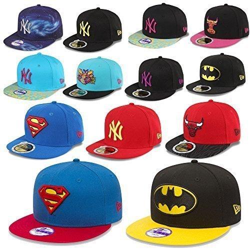 NEW ERA MLB SNAPBACK JEUNESSE ENFANTS CAP MLB NEW YORK YANKEES SOX UVM. RÉGLABLE - Batman #M60, Youth (51 - 54cm)