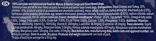 Eukanuba Senior Large Breed Trockenfutter (für ältere Hunde großer Hunderassen ab 7 Jahre, Premiumfutter mit Huhn), 15 kg Beutel - 3