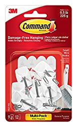 Command Wire Hooks, 9-Hook