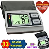 Viva Healthcare Fully Automatic Blood Pressure Monitor Bp Machine - 4 Aa Batteries Included