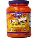 Pea Protein Dutch Chocolate - 2 lbs by NOW Foods
