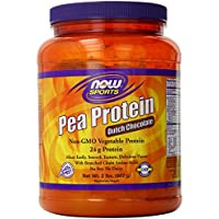 Now Foods Pea Protein Dutch Chocolate 2 Lb