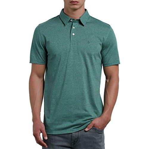 Volcom Herren Polo Hemd Wowzer Polo-shirt Herren Blau Ranger Green