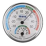 MagiDeal Termómetro Instrumentos Meteorológicos de Exterior Interior Higrómetro Húmedo Humedad Medidor de Temperatura