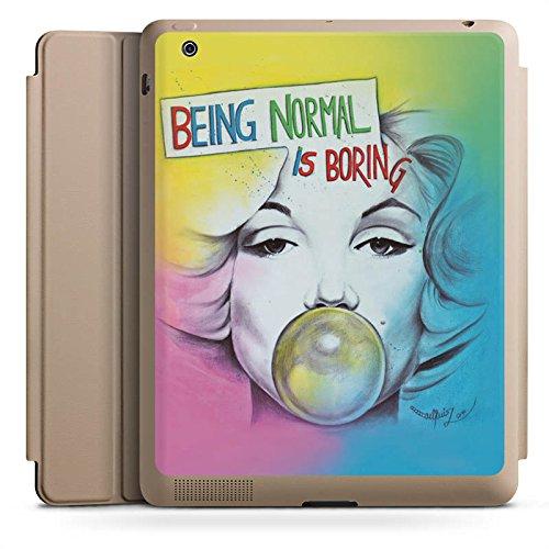 d 4 Smart Case Sand Hülle mit Ständer Schutzhülle Marilyn Monroe Star Sayings ()