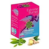 Extreme Burner–Ginger Carnitine + L + Green Tea in 100Capsules   Fat Burner–Suitable for Vegetarians and Vegans   Achieve We Results Guara nteed