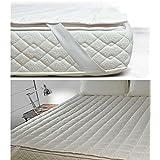 cottonstep Topper colchón acolchado matrimonio daunenstep