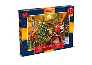 Winning Moves 12 DÍAS de Chirstmas 1000 Piece Waddingtons - Puzzle (1000 Piezas)