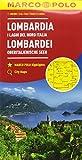 Lombardia, laghi del nord italia 2 1:200.000