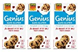 Genius Sans Gluten – Biscuit Sans Gluten - Petit Déjeuner- Fruits Rouges - (5x28g) 140 g - Lot de 3