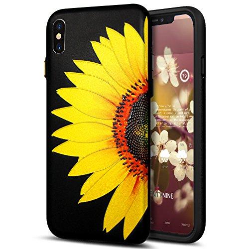custodia iphone x fiori
