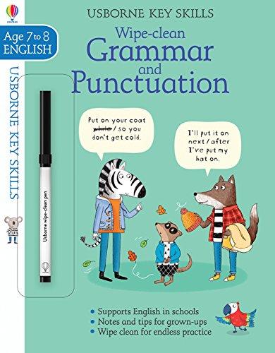 Wipe-Clean Grammar & Punctuation 7-8 (Key Skills)