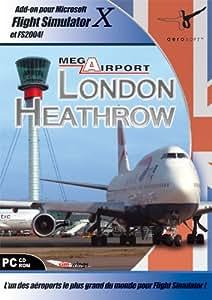 Mega Aéroport Londres-Heathrow X - Add-on Flight Sim 2004