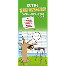 Ruthe - Shit happens! Familienkalender 2019