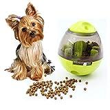 Lelestar Bola de comida para mascotas, juguetes para perro, vaso interesor, bolas de comida para mascotas, hiQ, tratamiento, bola alternativa, cuenco para comer para perros y gatos