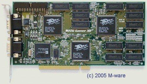 Diamond Monster 3D - 3Dfx Voodoo PCI ID3245