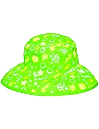 Baby Banz Reversible Sonnenhut - Lime Sea Creatures