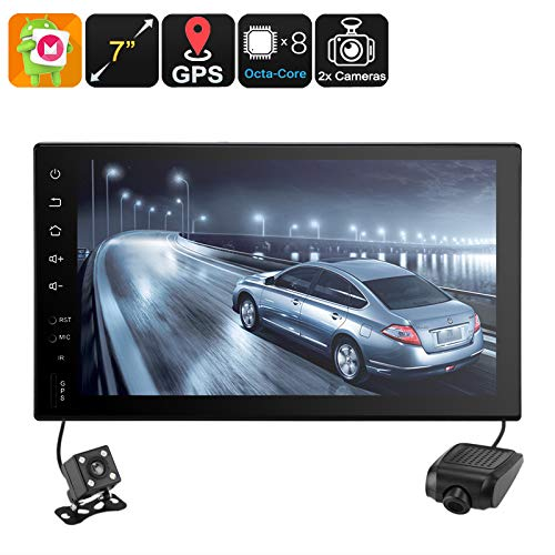 Universal 2 DIN Car Stereo Android 6.0 WiFi CAN BUS GPS Octa-Core CPU 7\