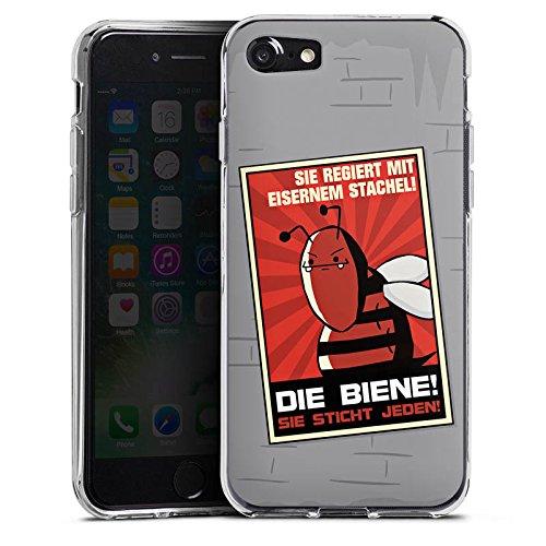 Apple iPhone X Silikon Hülle Case Schutzhülle DirtyWhitePaint Fanartikel Merchandise Poster Propaganda Silikon Case transparent