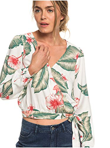 Roxy Empire State View - Long Sleeve Wrap Top for Women - Frauen -